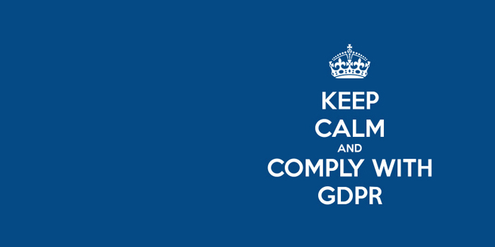 Comply with GDPR
